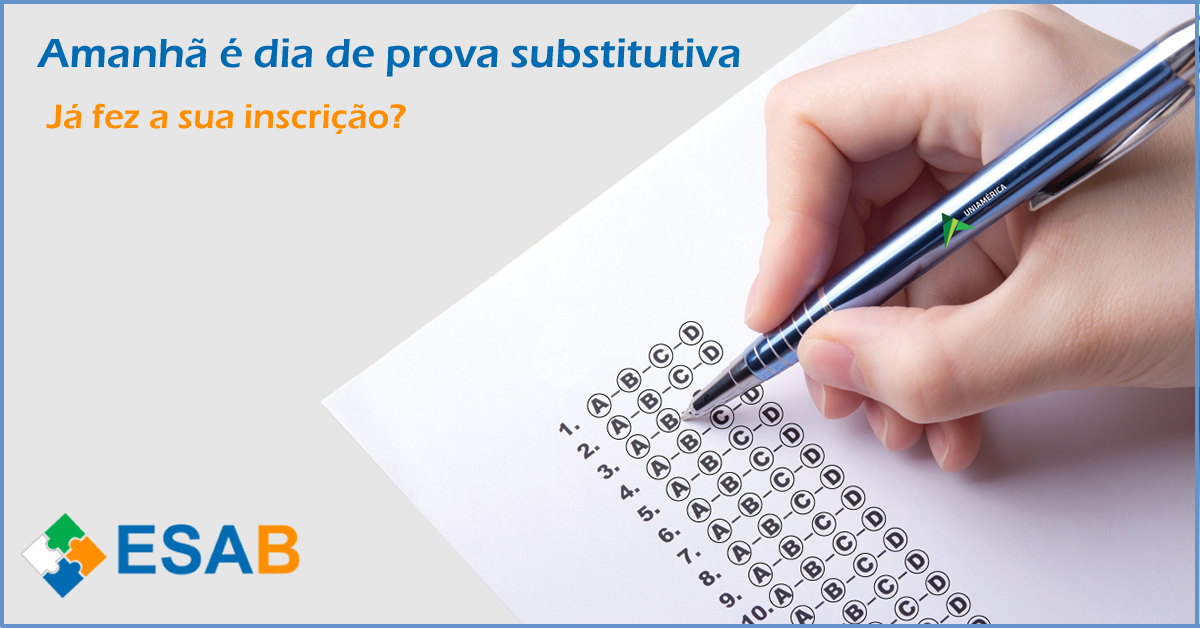 provasubstitutiva